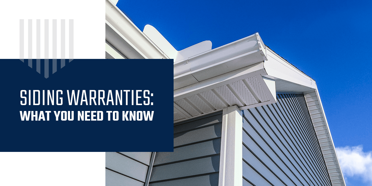 Siding Warranties: What You Need to Know
